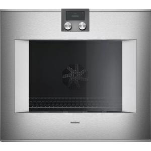 Gaggenau400 Series Oven 30'' Door Hinge: Right, Door Hinge: Right, Stainless Steel Behind Glass