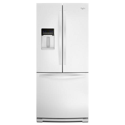 Whirlpool Canada - Whirlpool® 19.6 cu. ft. French Door Refrigerator with Exterior Water Dispenser