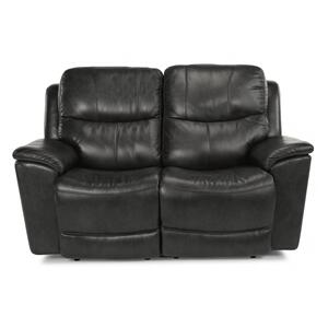 Flexsteel  Cade Power Reclining Loveseat with Power Headrests & Lumbar
