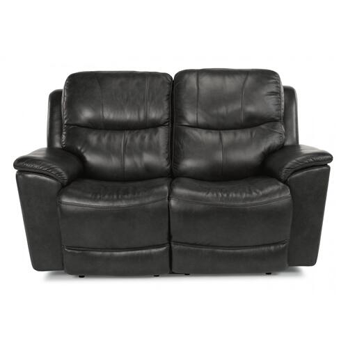 Cade Power Reclining Loveseat with Power Headrests & Lumbar