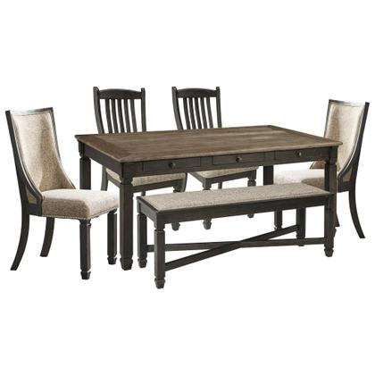See Details - Dining Table and 4 Chairs and Bench
