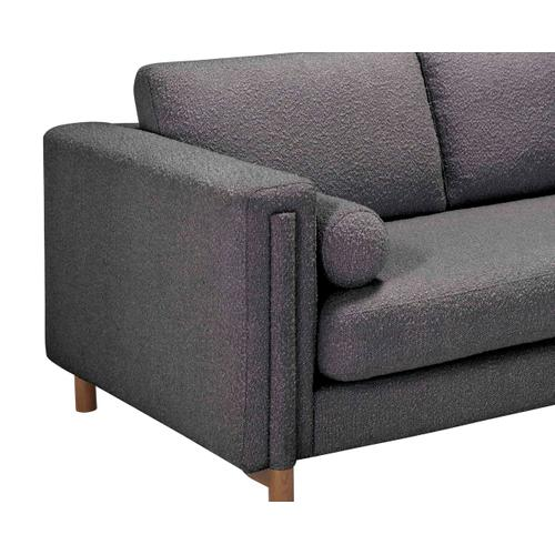 A.R.T. Furniture - Upholstered-Bi-Sectional Sofa 103in. & Ottoman in Truffle Boucle by A.R.T. Furniture