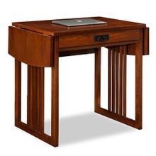 See Details - Mission Oak Drop Leaf Computer/Writing Desk #82420