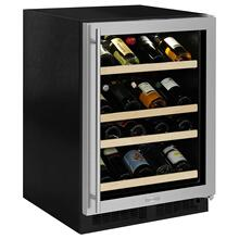 Marvel ML24WSG1RS   24-In Built-In High Efficiency Gallery Single Zone Wine Refrigerator with Door Swing - Right