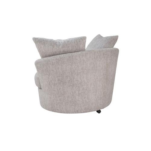 Porter International Designs - Big Chill Parchment Sofa, Loveseat, 1.5 Chair & Swivel Chair, U4439