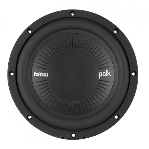 """MM1 Series 8"""" Single Voice Coil Subwoofer with Ultra-Marine Certification in Black"""