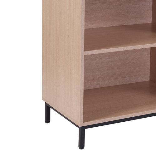 "Flash Furniture - Dudley 4 Shelf 29.5""H Open Bookcase Storage in Oak Wood Grain Finish"