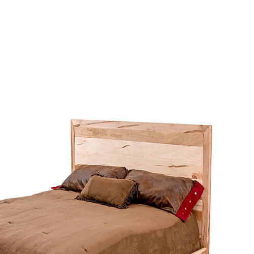Denver Bed - Solid Maple & Metal Legs - California King Headboard Only
