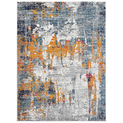 Amer Rugs - Montana MON-10 Orange Blue