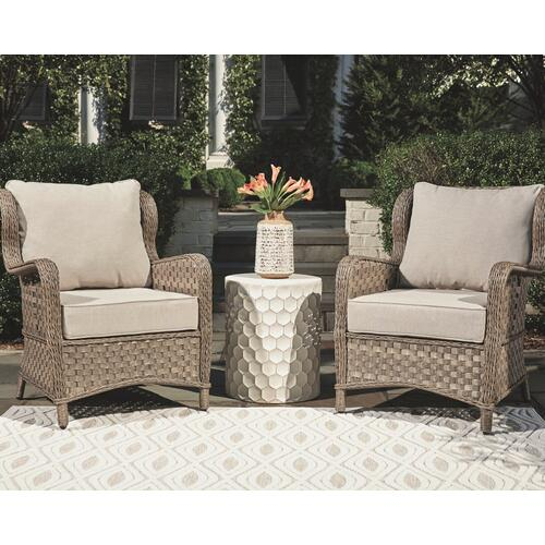 Signature Design By Ashley - Clear Ridge Lounge Chair With Cushion (set of 2)