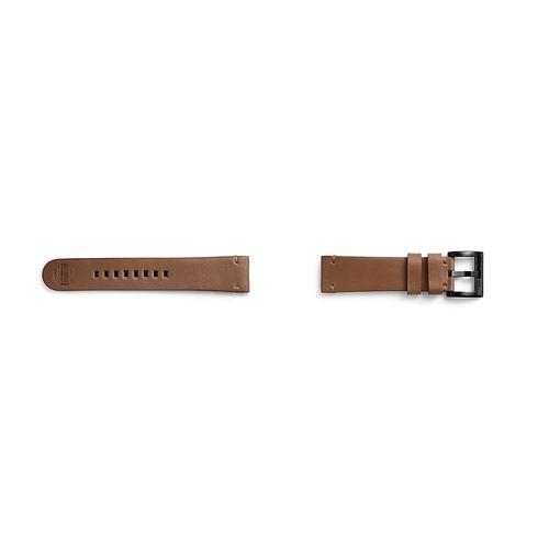 Samsung - Essex Leather Band for Galaxy Watch 46mm & Gear S3, Brown