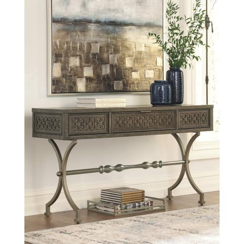 Quinnland Sofa/console Table