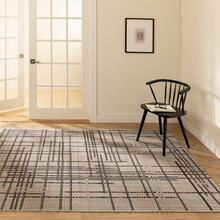 See Details - Vito - Minimalist Lines Area Rug, Beige, 5' x 8'