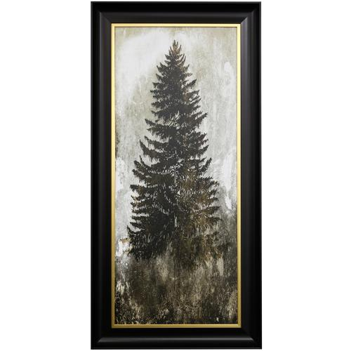 Style Craft - TREE IN THE GLOOM II  27 X 55  Made in USA  Textured Framed Print