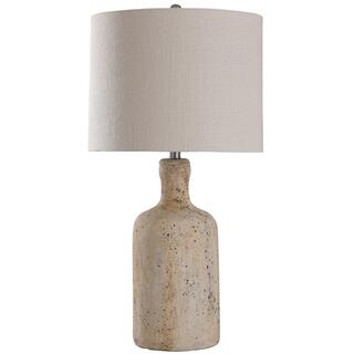 Olney Grey  30in Concrete Body Table Lamp  150 Watts  3-Way