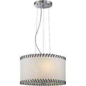 Pendant Lamp, Ps/paper Shade, E27 Type A 60wx3