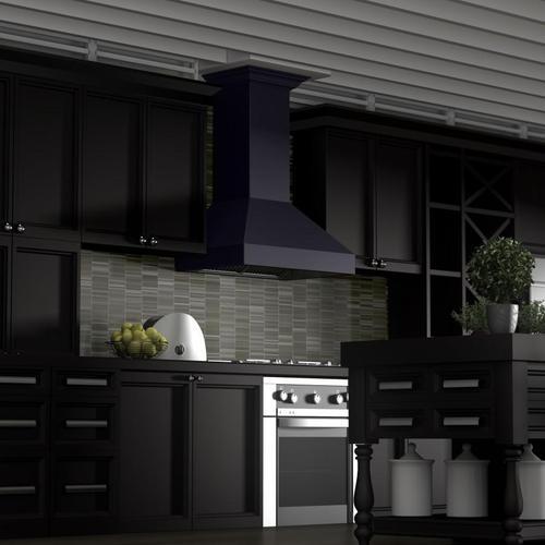 Zline Kitchen and Bath - ZLINE Designer Series Wall Mount Range Hood (8597B)
