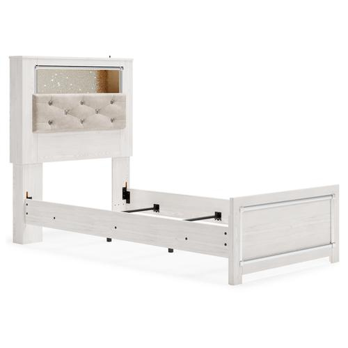 Altyra Twin Panel Bookcase Bed