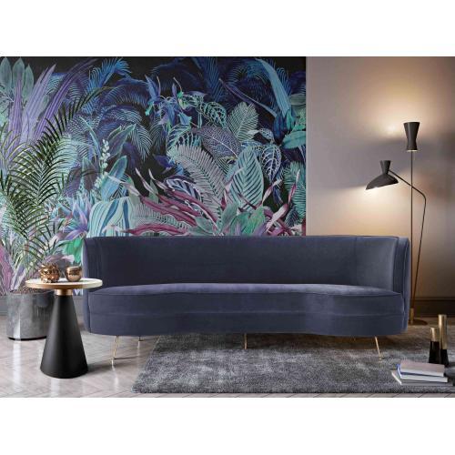Product Image - Flare Dark Grey Velvet Sofa
