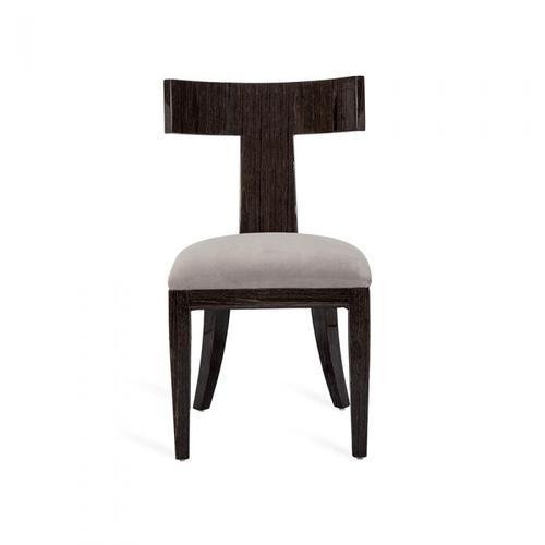 Marlow Klismos Chair - Smoked Oak