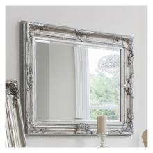 GA Harrow Rectangle Mirror Silver