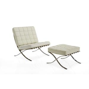 Ivory Barcelona Chair