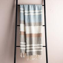 Taupe Maye Throw