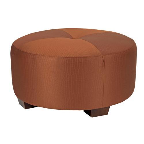 Broyhill Furniture - Bachmann Round Cocktail Ottoman