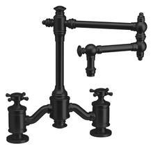 See Details - Towson Bridge Faucet - 6150-12 - Waterstone Luxury Kitchen Faucets