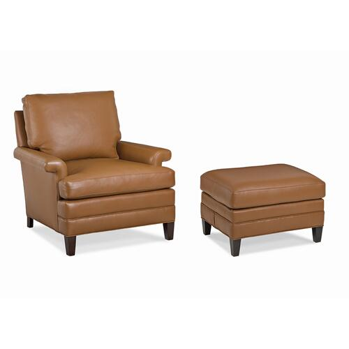 Hawkins Chair and Ottoman