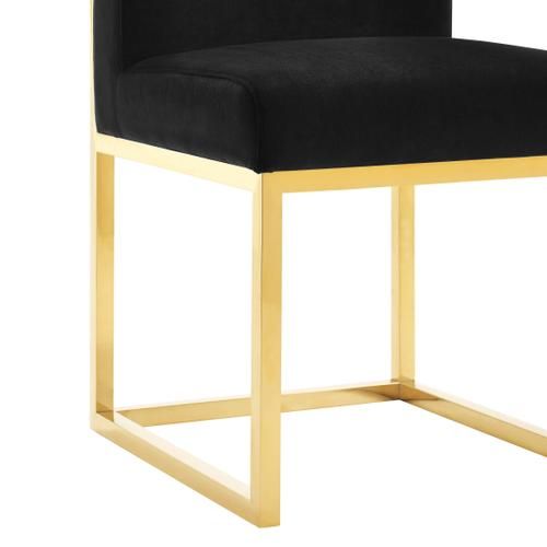 Tov Furniture - Haute Black Velvet Chair