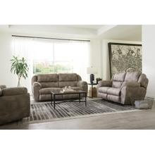 POWER LAY FLAT ROCKING LOVESEAT PwrHeadreast, power Lumbar, Dual Heat & Massage