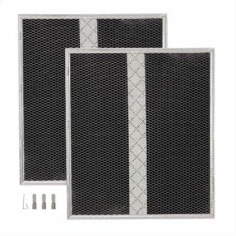 """Non-Ducted Replacement Charcoal Filter 15.725"""" x 16.875"""" x 0.375"""""""