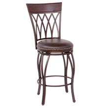 """See Details - Highback Swivel Counter Stool (24"""")"""