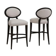 Meghan Oval Back Bar Stool