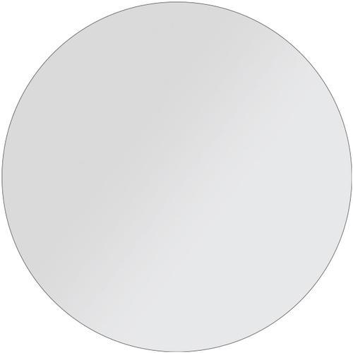 "Glass 48"" Dia. x 3/4"" Flat Polished Edge Top GF-48X3/4"