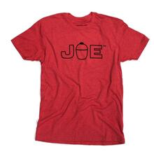 JOE Logo T-Shirt - Red - Small