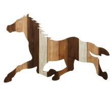 See Details - Slat Horse Wall Decor.
