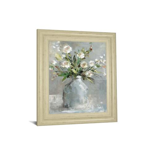 "Gallery - ""Country Bouquet I"" By Carol Robinson Framed Print Wall Art"