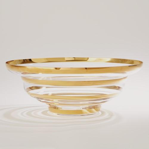 Saturn Bowl-Gold