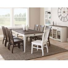 Cayla 9 Piece Two-Tone(Table & Eight Side Chairs)