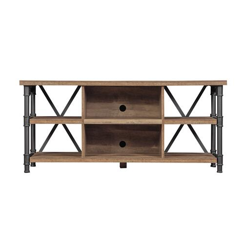 Irondale Open Architecture TV Stand for TVs up to 60 inches, Autumn Driftwood