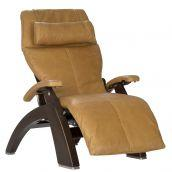 Perfect Chair ® PC-600 Silhouette - Dark Walnut - Sycamore Premium Leather