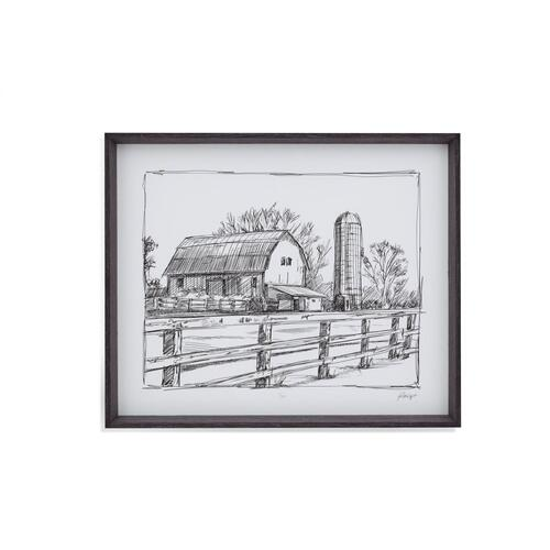 Farm Sketch I