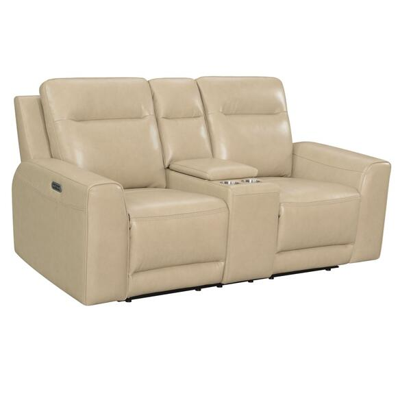 Doncella Dual-Power Console Loveseat