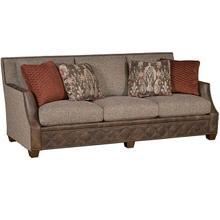 Santiago Leather/Fabric Sofa, Santiago Leather/Fabric Sofa