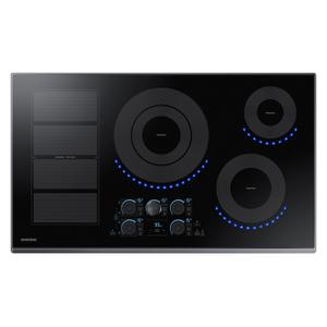 "Samsung Appliances36"" Smart Induction Cooktop in Black Stainless Steel"
