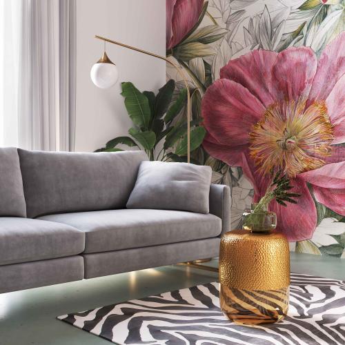 Tov Furniture - Kolla Amber Side Table