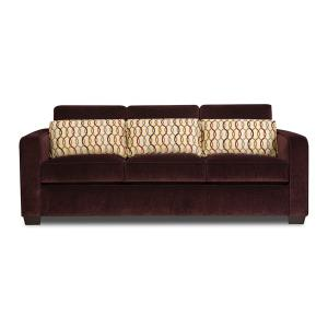 Simmons Upholstery - Wood Accent Ottoman