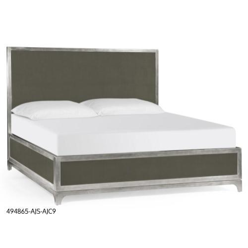 Alexander Julian UK King bed (Flannel/Silver)